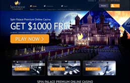 Spin Palace Online Casino printscreen 1