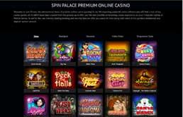 Spin Palace Online Casino printscreen 3