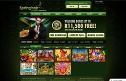Springbok Casino printscreen 1