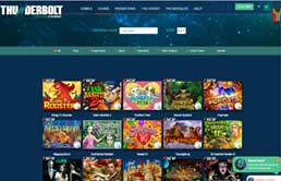 Thunderbolt Casino printscreen 2