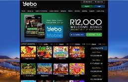 Yebo Casino printscreen 1