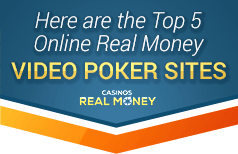 Top Real Money Video Poker Sites