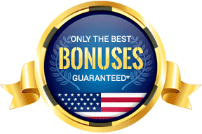 Only the best bonuses guaranteed in the United States*