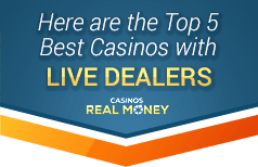 Best Live Dealer Casinos Online