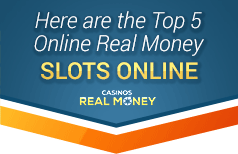 top 5 real money slots online